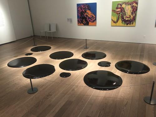 """Ai Weiwei's """"Oil Spills"""""""