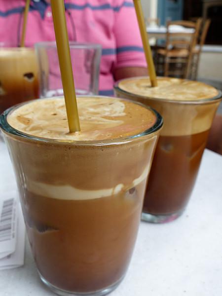 le café frappé du dioskouroï
