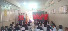 Oracle Volunteers at School Karnataka India