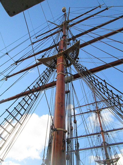 Main Mast, RRS Discovery, Dundee