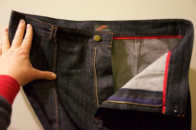 Lander jeans_insides