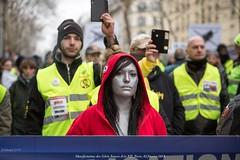 Paris, manifestation du 02 février 2019 des gilets jaunes, Acte XII