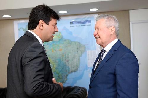 15.03.2019 - Prefeito Arthur Neto reúne com ministro da Saúde em Brasília