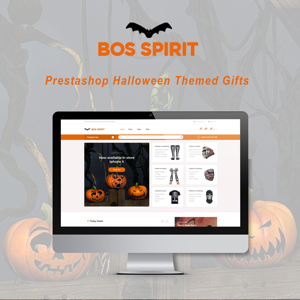 Ap Bosspirit Prestashop Halloween Themed Gifts - Halloween accessory store