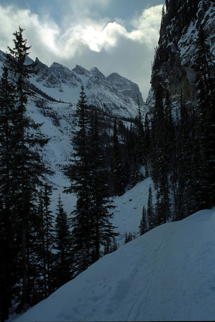Backcountry Ski 1 | A view of the mountains while backcountr