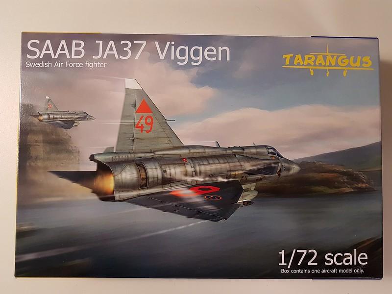 Tarangus 1/72 SAAB JA37 Viggen 47457644991_91f6536c9f_c
