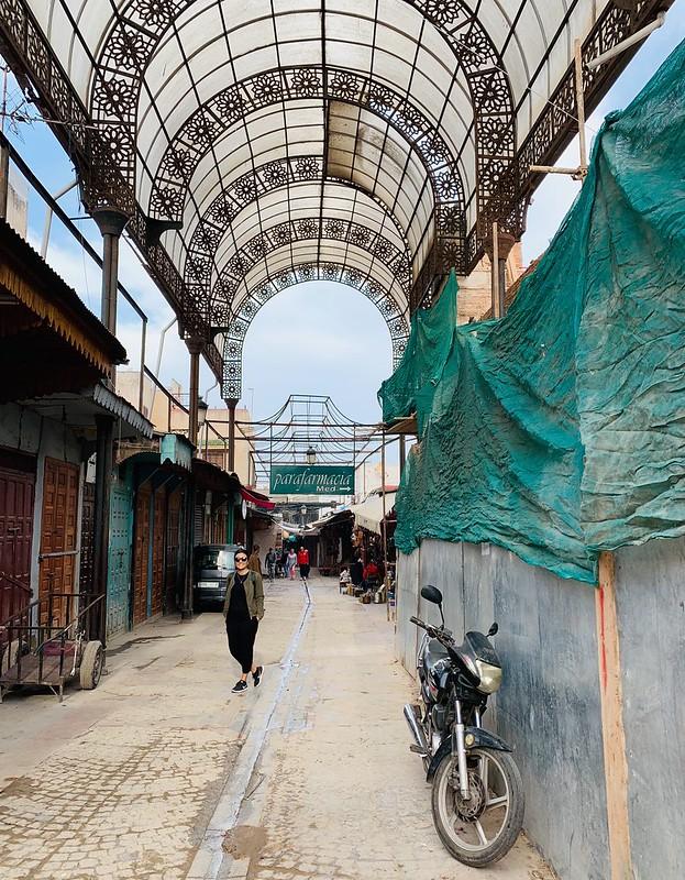 Le nuove tettoie di Rabat