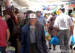Viajefilos en Kirguistan, Sary Osh 005