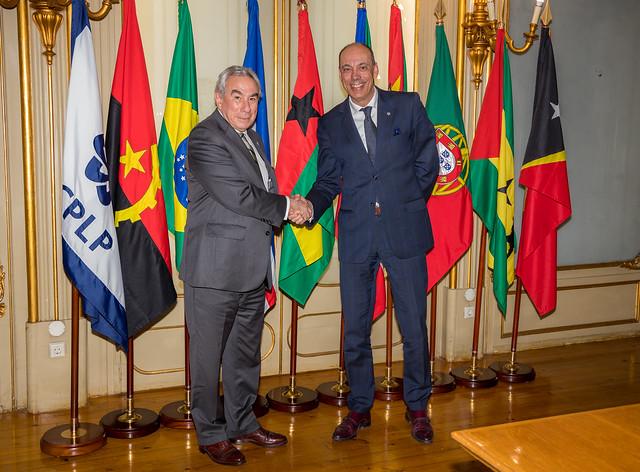 19.01. Secretário Executivo recebe Embaixador de Andorra em Portugal