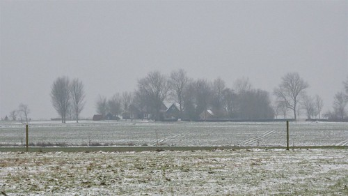 Winter on the fields of Gaasterland
