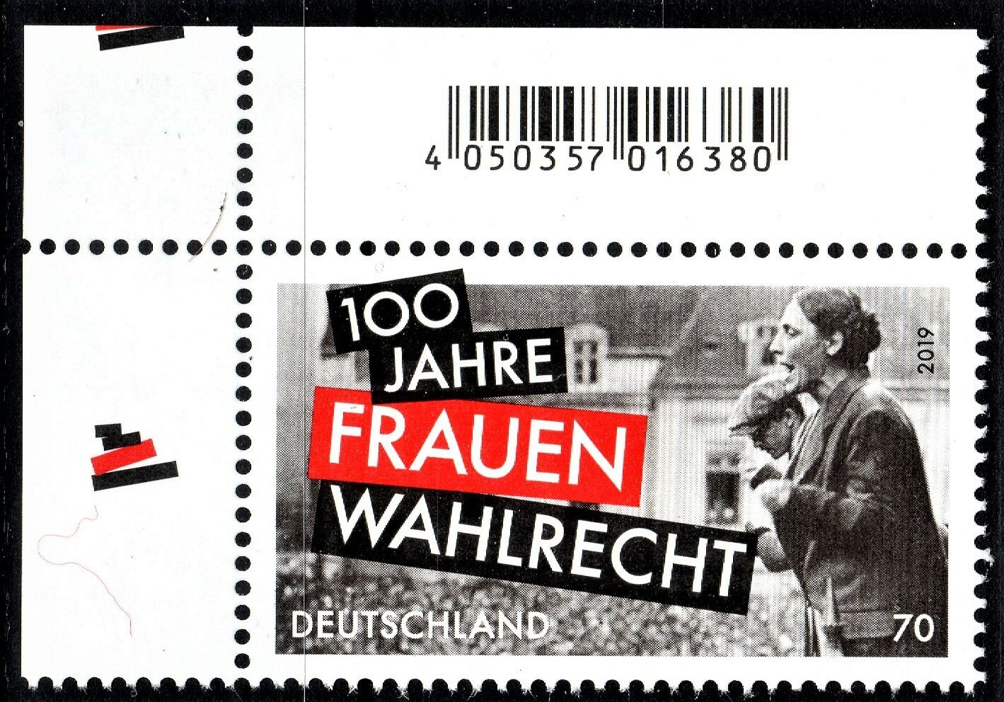 Germany - 100th Anniversary of Women's Suffrage (January 2, 2019)