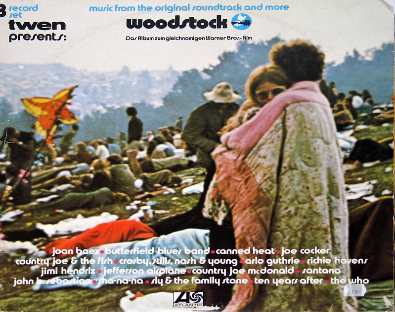 Woodstock Music from the original soundtrack 3LP Germany