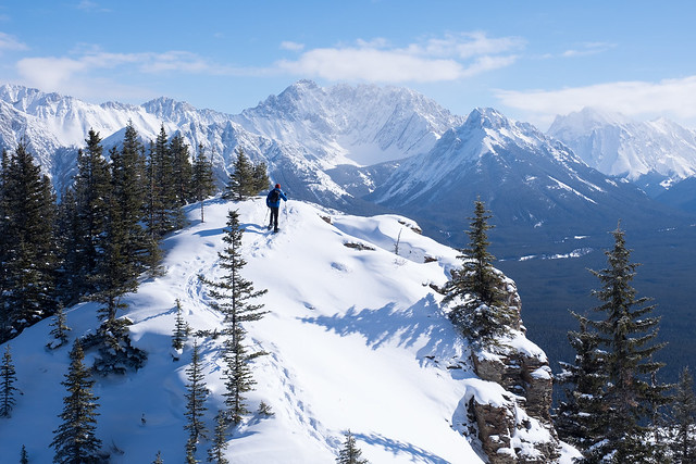 Snowshoeing - Gypsum Ridge - Feb 2019-11