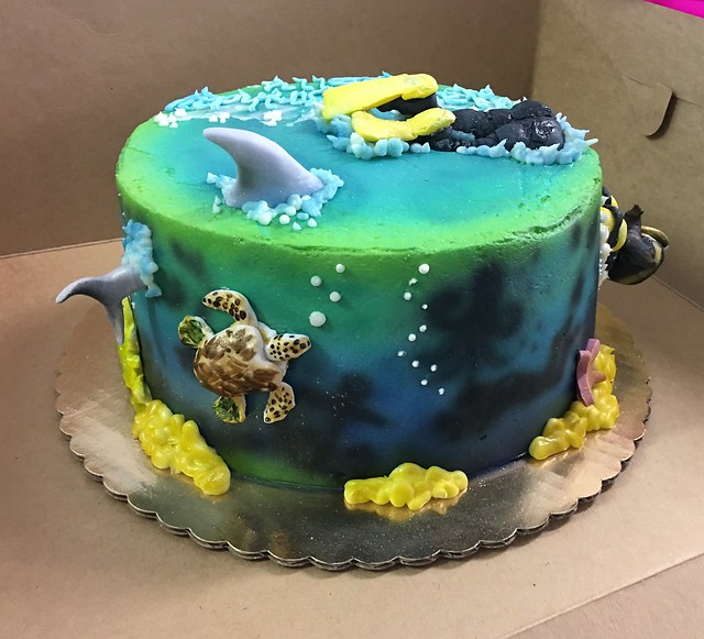 Cake by Michelle Bass of The Cake Diva LLC