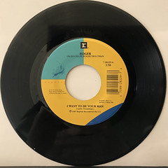 ROGER:I WANT TO BE YOUR MAN(RECORD SIDE-A)