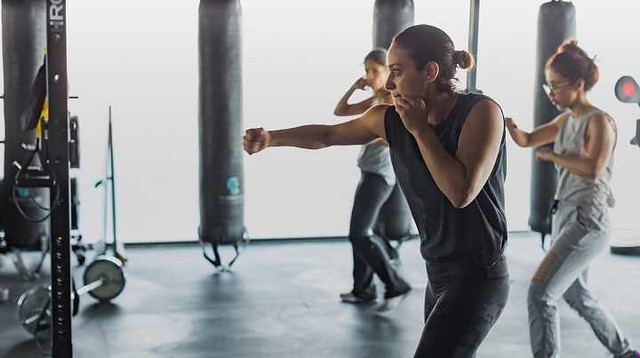 2842 Halah Al Hamrani Only Female Boxing and Kickboxing Trainer in Saudi Arabia 02