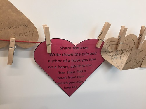 Library Lovers Day display