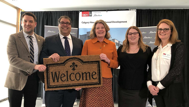 New affordable housing opens in Calgary