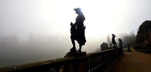 Misty Silhouettes (Powis Castle)