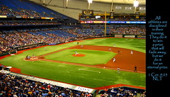 ⚾ Tropicana Field, St. Petersburg, Florida