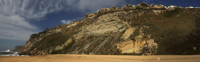 Nazere Cliffs Panorama