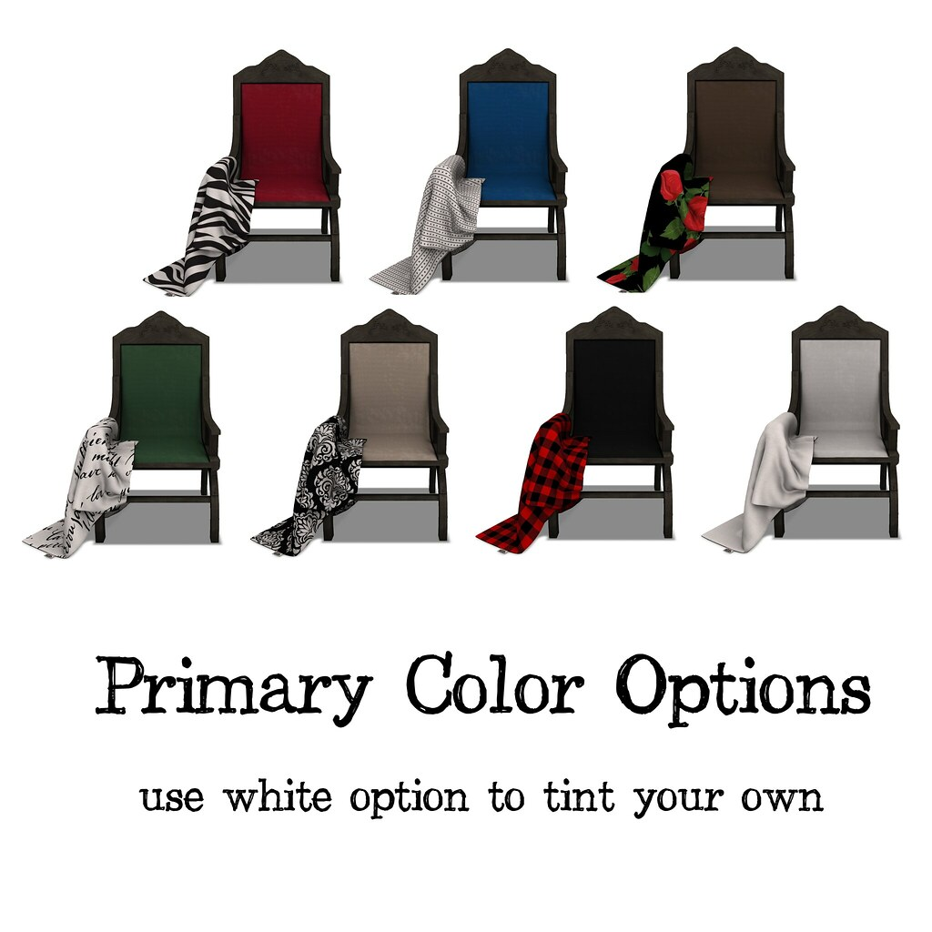 .:Short Leash:. The Favorite Chair – Primary Options
