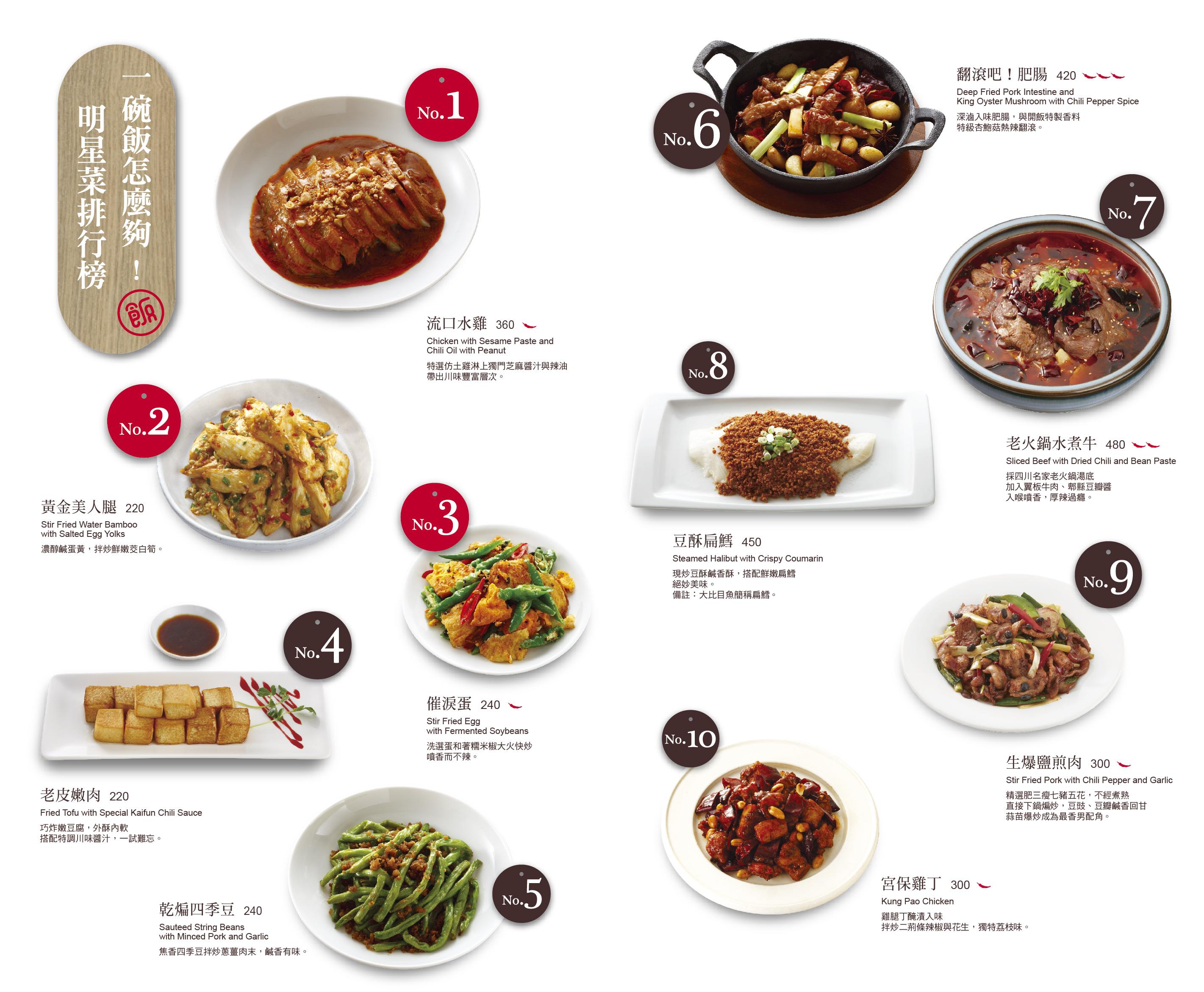 開飯川食堂 菜單 台中12