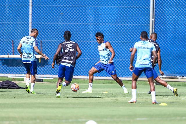 Treino Grêmio 13/02/19