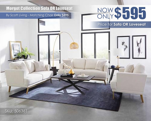 506361 Margot Collection_Sofa OR Loveseat