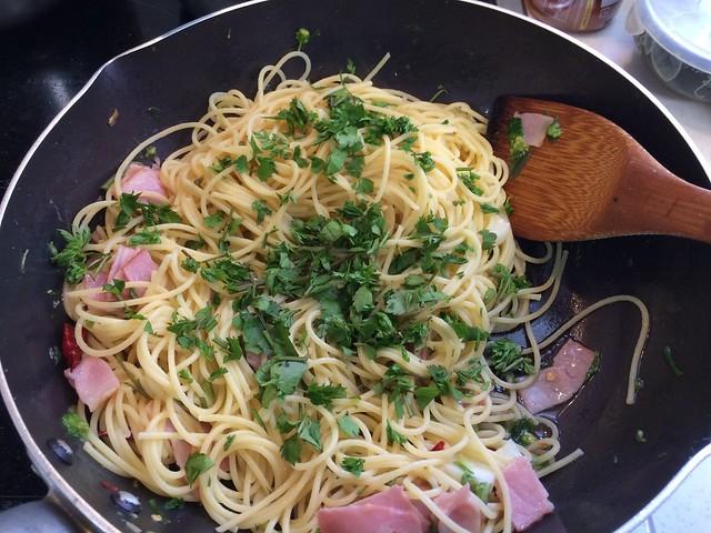 Pasta with Wild Herb
