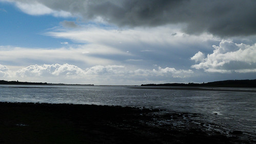 Wide open spaces, mouth of River Exe