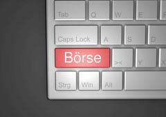 Boerse-auf-Tastatur