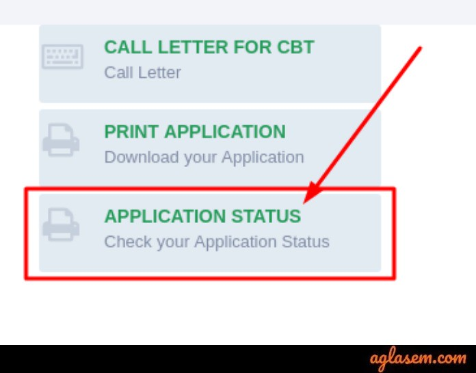 RPF Constable Ancillary 2019 Application Status Link