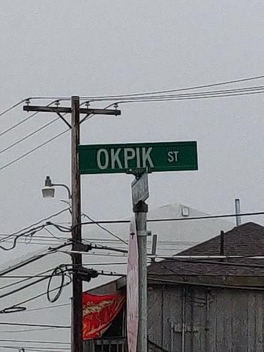 Okpik Street Barrow. Alaska