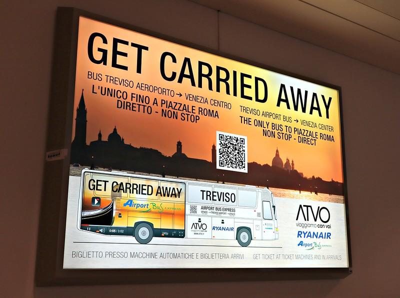 Como ir de Treviso a Veneza - Ryanair para Veneza