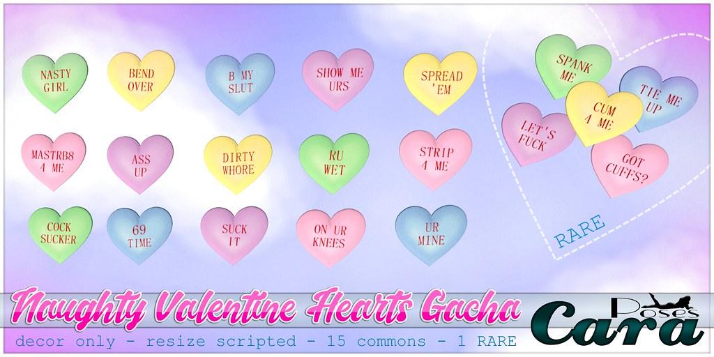 Cara's Naughty Valentine Gacha
