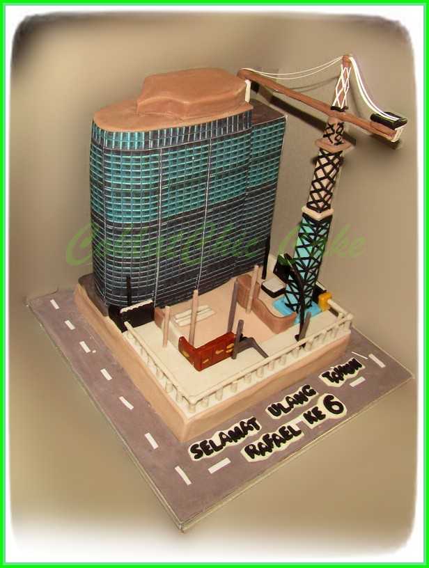 Cake Building Construction RAFAEL 18 cm 2 set