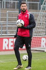 Dominic Maroh nach dem Training