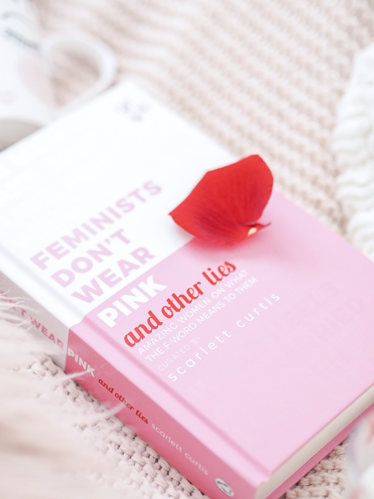 Feminists dont wear pink book