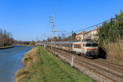 BB7254 - 3705 Paris Austerlitz - Toulouse