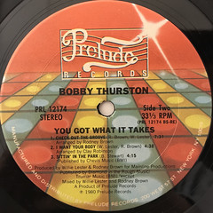 BOBBY THUSTON:YOU GOT WHAT IT TAKES(LABEL SIDE-B)