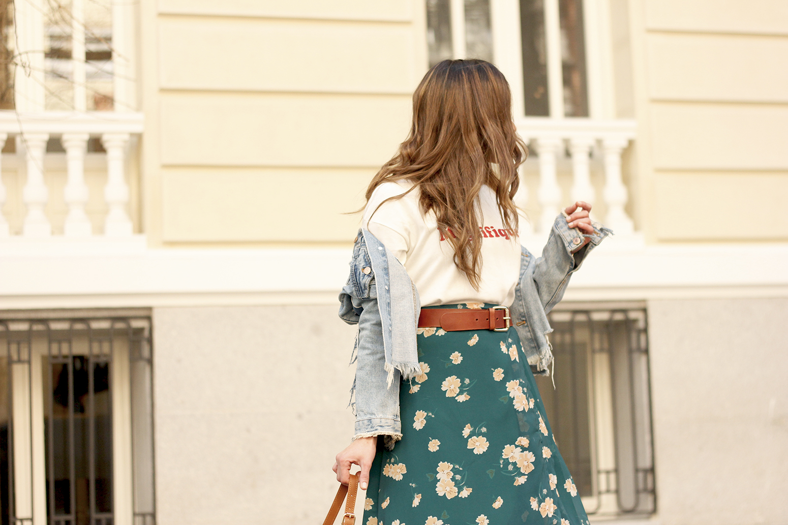 floral maxi converse skirt tshirt find amazon fashion street style outfit 20199
