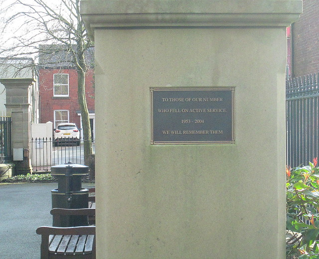 Memorial to Fallen Infantry Junior Leaders, Oswestry
