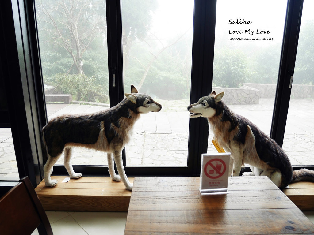台北陽明山遊客服務中心親子動物餐廳咖啡廳下午茶推薦石尚自然探索屋  (3)