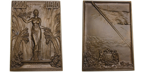 Chile Independence Centennial Plaque