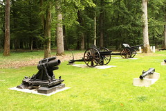 WW1 Artillery pieces Belleau Wood France