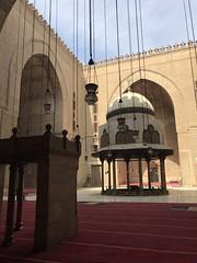 Inside Sultan Hassan Mosque, Cairo