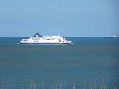 Cap Blanc-Nez.- ferry P&O