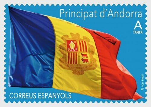 Spanish Andorra - Definitive: Andorran Flag (January 4, 2019)