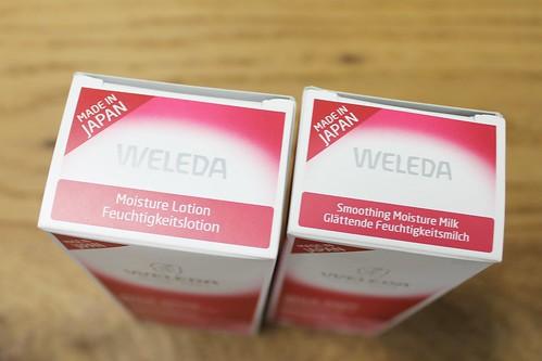 WELEDA(ヴェレダ)の人気アイテムワイルドローズの化粧水と乳液
